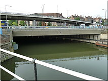 TQ3783 : Bridge 5, Lee Navigation by Mr Biz
