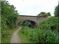 TQ0380 : Bridge 4, Slough Arm, Grand Union Canal by Robin Webster