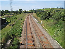 NY0938 : Bulgill railway station (site), Cumbria by Nigel Thompson