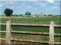 TL4985 : Barcham Farm, Pymoor viewed from Adventurers' Drove by Richard Humphrey