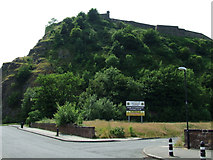 NS4074 : Dumbarton Rock by Thomas Nugent