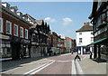 SO5040 : Widemarsh Street 2013, Hereford by Keith Edkins