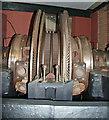 SJ8397 : Museum of Science & Industry  inside a Ljungstrom turbine by Chris Allen