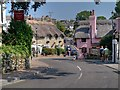SZ5880 : Church Road (A3055) Shanklin Old Village by David Dixon