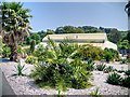 SZ5476 : Tropical House, Ventnor Botanic Garden by David Dixon