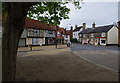 TM3055 : The square, Wickham Market by Ian Taylor