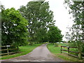 SP2942 : Entrance to Littleworth farm by Nigel Mykura