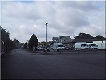 ST0207 : Cullompton Motorway Service Area by Sarah Charlesworth