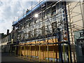 NT9952 : Berwick-Upon-Tweed Townscape : Scaffolding In Bridge Street by Richard West