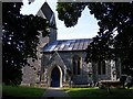 TM3186 : St.Mary's Church, Flixton by Adrian Cable