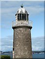 NO4529 : The Eastern Lighthouse, Tayport by Walter Baxter