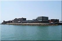 SZ6299 : Portsmouth Harbour, Fort Blockhouse by David Dixon