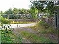SJ9694 : Godley Junction Station Yard by Gerald England