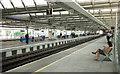 TQ3180 : Blackfriars Station platforms by Julian Osley