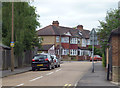 TQ2364 : North Cheam:  Priory Crescent by Dr Neil Clifton