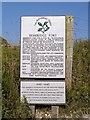 SZ6286 : Bembridge Fort (National Trust Sign) by David Dixon