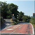 SO0942 : Eastern start of the 30mph zone in Erwood by Jaggery