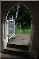 TM0691 : Entrance doorway, All Saints church by Ian Taylor