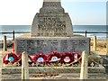 SZ6084 : Sandown War Memorial Base by David Dixon