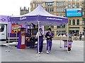 SJ8398 : Crunchums Tent, Exchange Square by David Dixon