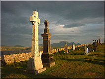 NC5759 : Evening at Melness Burial Ground by Karl and Ali