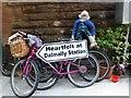 NN1627 : Bikes, Dalmally by Kenneth  Allen