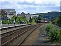 SH7977 : North Wales Coast Express approaching Llandudno Junction by Richard Hoare