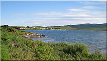 NG2547 : View over Loch Dunvegan by Richard Dorrell