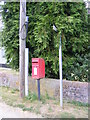 TM3282 : St.Nicholas Postbox by Adrian Cable