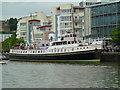 ST5872 : Motor Vessel Balmoral - Bristol floating harbour by Chris Allen