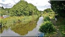SE1115 : Huddersfield Narrow Canal at Milnsbridge by Chris Morgan