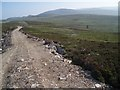 NH9434 : New track on Carn nan Clach Garbha by Dorothy Carse