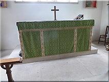 SU1012 : St James, Alderholt: altar by Basher Eyre