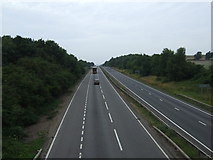 SK8836 : A1 northbound near Barrowby by JThomas