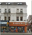 SJ8498 : Koffee Pot by Gerald England