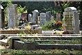 SS9513 : Tiverton : Tiverton Cemetery by Lewis Clarke