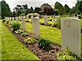 SP2665 : Warwick Cemetery, Commonwealth War Graves by David Dixon