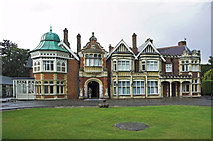 SP8633 : The Mansion, Bletchley Park by Andrew Hackney