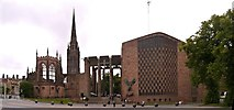 SP3379 : The Cathedrals of Coventry by David Dixon