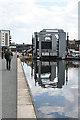 NT2472 : Leamington Lift Bridge by Anne Burgess