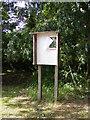 TM3282 : Village Notice Board by Adrian Cable