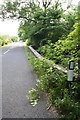 SD7790 : A684 and northern parapet of Scar Foot Bridge by Roger Templeman
