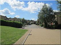 SE1421 : Sugden Close - looking towards School Green by Betty Longbottom
