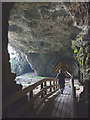 NC4167 : Inside Smoo Cave entrance by Karl and Ali