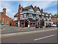 SJ4166 : The Cross Foxes, Boughton (the A51), Chester by Bill Harrison