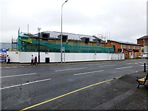 H4572 : New shopping units, Omagh by Kenneth  Allen