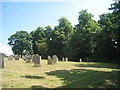 NY7913 : The south side of the churchyard by Jonathan Thacker