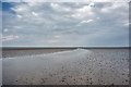 SD3450 : Shallow Channel on Preesall Sands by Tom Richardson