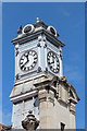 TQ5839 : Tunbridge Wells Station clock tower by Oast House Archive