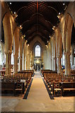 SK9136 : Interior of St Wulfram's Church, Grantham by Philip Halling